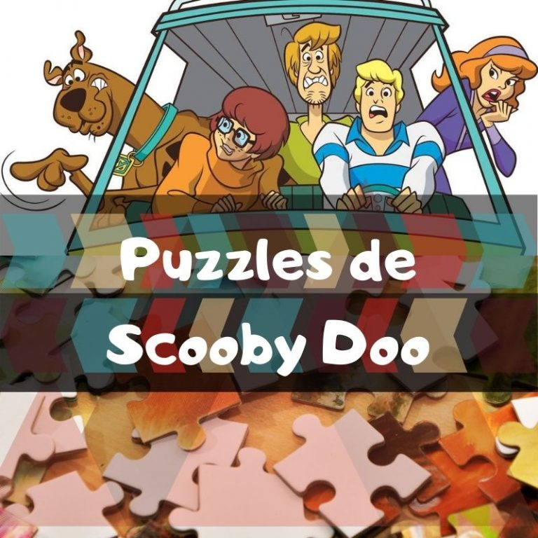 Lee más sobre el artículo Los mejores puzzles de Scooby Doo