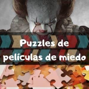 Los mejores puzzles de películas de meido - Puzzles de películas de terror