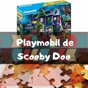 Playmobil de Scooby Doo - Puzzles de los dibujos animados de Scooby Doo