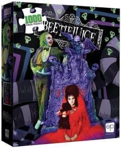 Puzzle de Beetlejuice de 1000 piezas - Los mejores puzzles de películas de miedo