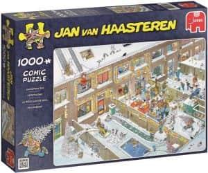 Puzzle de Christmas Eve de Jan Van Haasteren de 1000 piezas - Los mejores puzzles de Navidad