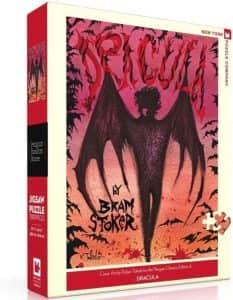 Puzzle de Drácula de 500 piezas - Los mejores puzzles de Halloween