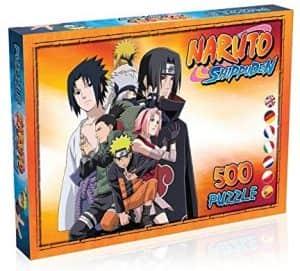Puzzle de Naruto de 500 piezas - Los mejores puzzles de Naruto Shippuden