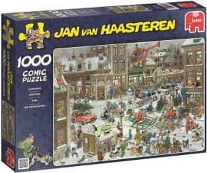 Puzzle de Navidad de Jan Van Haasteren de 1000 piezas - Los mejores puzzles de Navidad