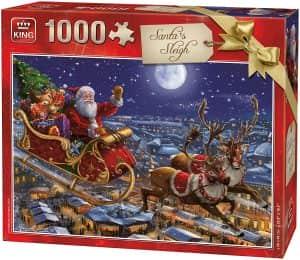 Puzzle de Papá Noel de Navidad de 1000 piezas - Los mejores puzzles de Navidad