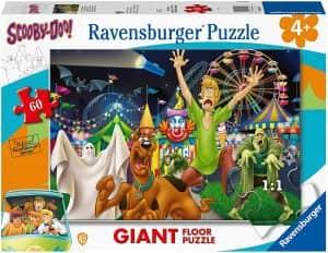 Puzzle de Scooby Doo en la feria de 60 piezas - Los mejores puzzles de Scooby Doo