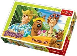 Puzzle de Scooby Doo vacaciones de 30 piezas - Los mejores puzzles de Scooby Doo