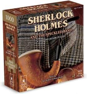 Puzzle de Sherlock Holmes de 1000 piezas de Paul Lamond - Los mejores puzzles de Sherlock Holmes