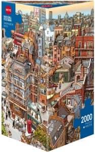 Puzzle de Sherlock Holmes de 2000 piezas de HEYE - Los mejores puzzles de Sherlock Holmes