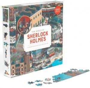 Puzzle de The World of Sherlock Holmes de 1000 piezas - Los mejores puzzles de Sherlock Holmes