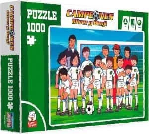 Puzzle de equipo de Oliver y Benji de 1000 piezas - Los mejores puzzles de Oliver y Benji