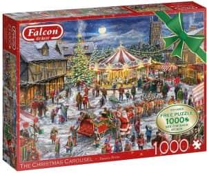 Puzzle de fiesta de Navidad de 1000 piezas - Los mejores puzzles de Navidad