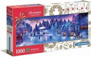 Puzzle de panorama de Christmas Collection de 1000 piezas - Los mejores puzzles de Navidad