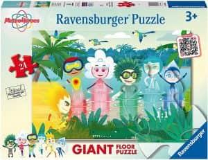 Puzzle de personajes de MeteroHeroes de 24 piezas de Ravensburger - Los mejores puzzles de MeteoHeroes