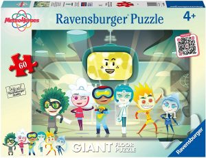 Puzzle de personajes de MeteroHeroes de 60 piezas de Ravensburger - Los mejores puzzles de MeteoHeroes