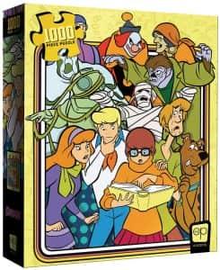 Puzzle de personajes de Scooby Doo de 1000 piezas de USAopoly - Los mejores puzzles de Scooby Doo