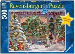 Puzzle de tienda de Navidad de 500 piezas - Los mejores puzzles de Navidad