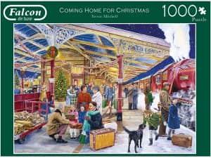 Puzzle de viaje de Navidad de 1000 piezas - Los mejores puzzles de Navidad
