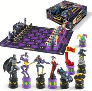Set de Ajedrez de Batman vs Joker - Los mejores juegos de ajedrez