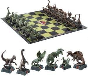 Set de Ajedrez de Jurassic Park - Los mejores juegos de ajedrez