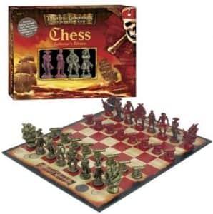 Set de Ajedrez de Piratas del Caribe - Los mejores juegos de ajedrez
