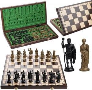 Set de Ajedrez de Sparta - Los mejores juegos de ajedrez