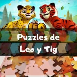 Los Mejores Puzzles De Leo Y Tig De Dibujos Animados