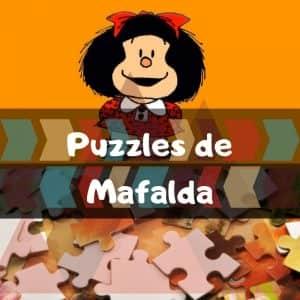 Los Mejores Puzzles De Mafalda De Dibujos Animados