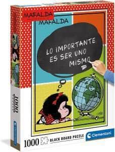 Puzzle De Mafalda De 1000 Piezas De Clementoni De Lo Importante Es Ser Uno Mismo