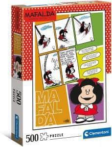 Puzzle De Mafalda En El Columpio De 1000 Piezas De Clementoni