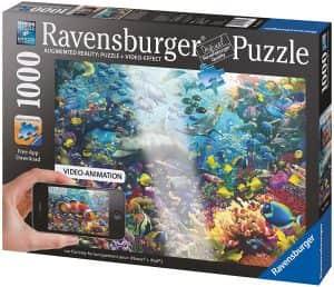 Puzzle De Mundo Submarino De Augmented Reality De 1000 Piezas De Ravensburger. Los Mejores Puzzles De Realidad Aumentada
