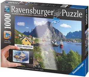 Puzzle De Noruega De Augmented Reality De 1000 Piezas De Ravensburger. Los Mejores Puzzles De Realidad Aumentada