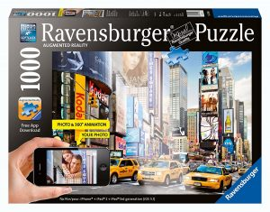 Puzzle De Nueva York De Augmented Reality De 1000 Piezas De Ravensburger. Los Mejores Puzzles De Realidad Aumentada