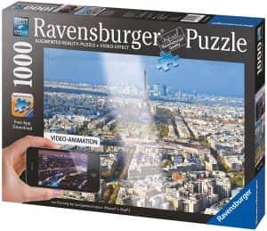 Puzzle De París De Augmented Reality De 1000 Piezas De Ravensburger. Los Mejores Puzzles De Realidad Aumentada