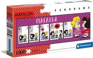 Puzzle De Panorama De Mafalda De 1000 Piezas De Clementoni