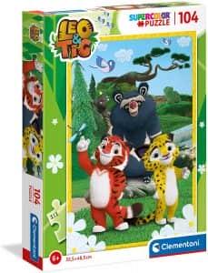 Puzzle De Poster De Leo Y Tig De 104 Piezas De Clementoni