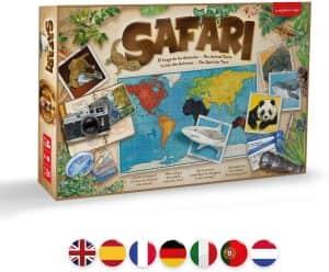 Juego de Safari el Juego de los Animales - Los mejores juegos de mesa de animales