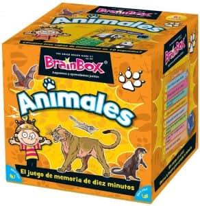 Juego de memoria de BrainBox de Animales - Los mejores juegos de mesa de animales