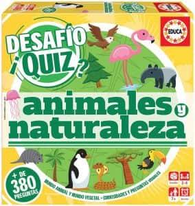 Juego de mesa de Desafio Quiz de Animales y Naturaleza - Los mejores juegos de mesa de animales