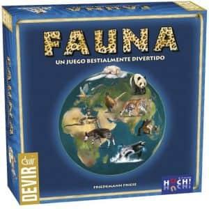 Juego de mesa de Fauna de Devir - Los mejores juegos de mesa de animales