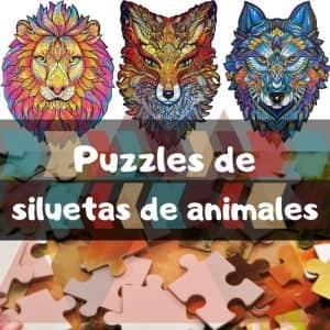 Los mejores puzzles de siluetas de animales - Puzzles especiales de siluetas de animales con piezas únicas