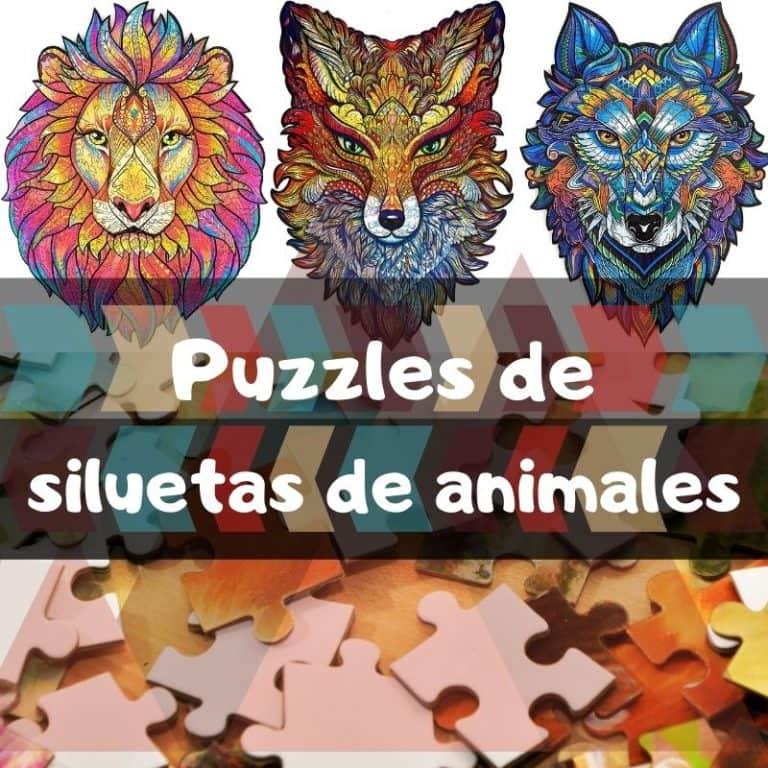 Lee más sobre el artículo Los mejores puzzles de siluetas de animales