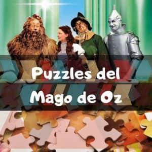 Los mejores puzzles del Mago de Oz - Puzzles de The Witcher of Oz - Puzzles de personajes del Mago de Oz
